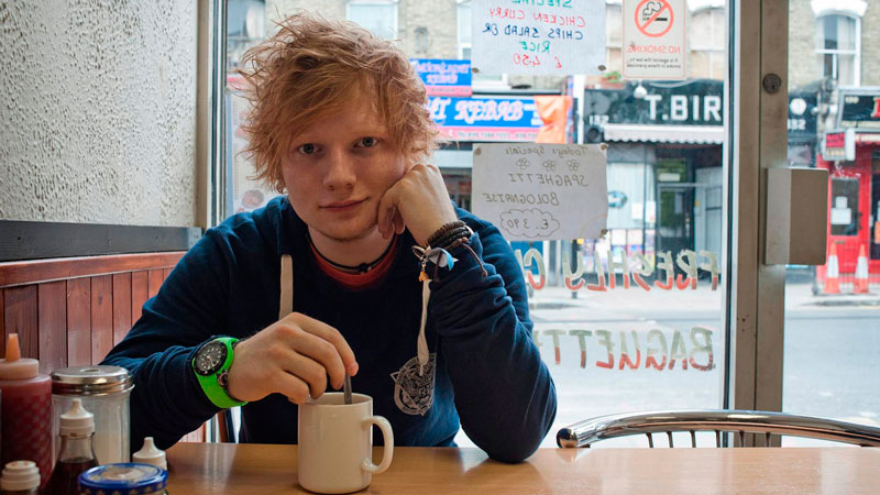 Ed Sheeran - Coffee break.