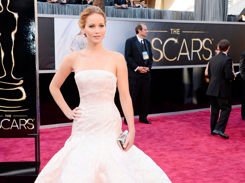 Jennifer Lawrence no Oscar 2013