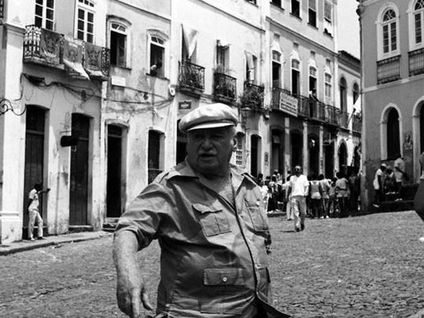 Jorge Amado no Pelourinho
