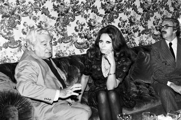 Jorge Amado e Sofia Loren