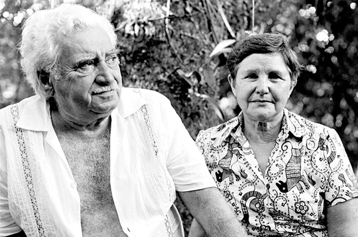 Jorge Amado e Zélia Gattai